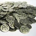 パチンコ店の空き台や床に落ちている玉やメダルを拾って換金する輩