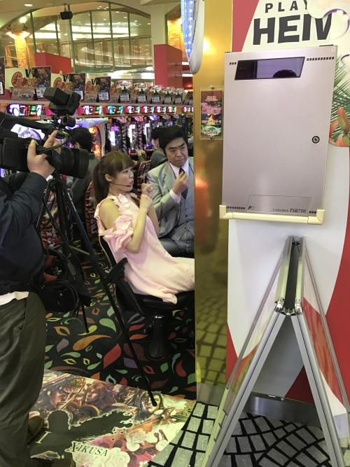 パチfanのTV収録 ゆうたろうさん来店!