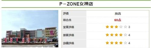 P-ZONE 女神店