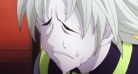 絶望の表情