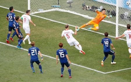ポーランド戦 ゴール