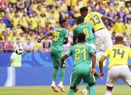 コロンビア セネガル戦ゴール