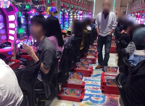 G&L7羽島店 出玉