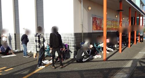 ユーロスター羽島店 並び