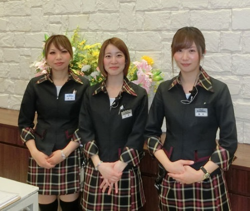 パーラー甲子園 制服